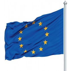 Pavillon européen maille polyester 115 g 80 x 120 cm