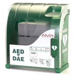 Armoire extérieure non connectée pour défibrillateur