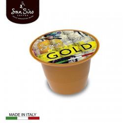 Lot de 200 capsules de café Gold San Siro