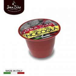 Lot de 200 capsules de café Nocciola San Siro