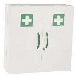 Armoire à pharmacie 2 portes en acier ROSSIGNOL Plus