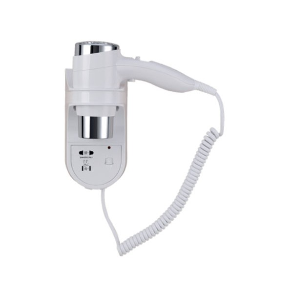 Jvd S/èche-Cheveux Blanc 1600 W Support Mural avec ON//OFF