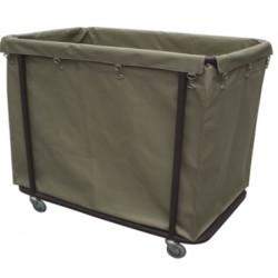 Chariot de collecte de linge avec sac en nylon et polyester 391 L