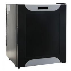 Minibar thermo-électrique noir 28L porte pleine L38 x P38 x H47,5 cm