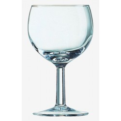 Verre ballon 25 cl n°2 ø70 x ht 139 mm (le lot de 12)