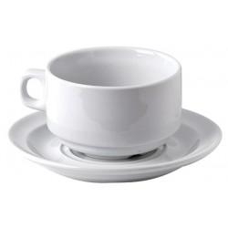 Tasse déjeuner porcelaine Norvège 28 cl ø100 x h62 mm (le lot de 12)