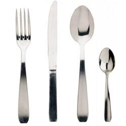 Fourchette de table Brésil inox 18% ép. 16/10e (le lot de 12)