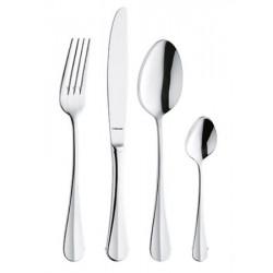 Fourchette de table Baguette inox 18% ép.2,5 mm (le lot de 12)