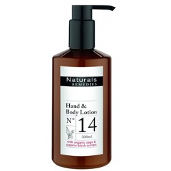 Lot de 12 Lotions corps et mains Naturals Remedies en flacon pompe 300 ml