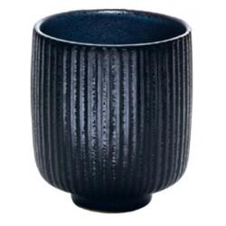 Lot de 6 mugs relief noir ultra résistant 30 cl