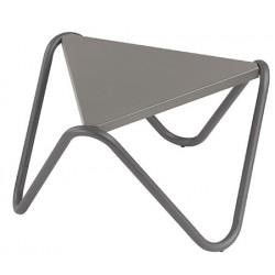 Table basse Vogue en acier 57 x 57 x H32 cm (le lot de 4)