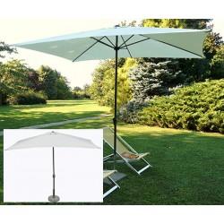 Parasol Camaret acier et polyester 300x200 cm