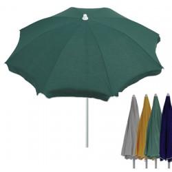 Parasol Arzon acier et polyester diam 200 cm