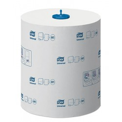 Carton de 6 rlx essuie mains Tork Universal H1 Ecolabel 1p 280 m