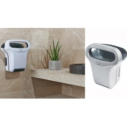 Sèche-mains JVDExp'Air automatique 1200W gris métal