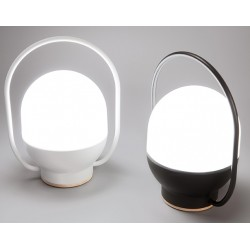 Lampe portable rechargeable Take Away noire