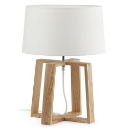 Lampe de table Bliss blanche