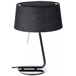 Lampe de table Hotel noire