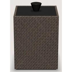 Boite Cube pandan java L9 x P9 x H13 cm
