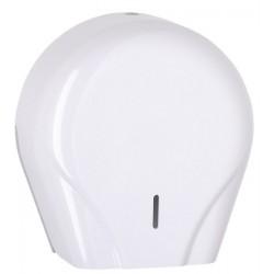 Distributeur de papier hygiénique 400 m en ABS blanc Optimum
