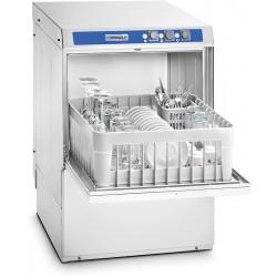 Lave-verres 400 en inox avec pompe de vidange et adoucisseur intégrés L46,8 x P51 x H71,4 cm