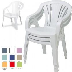 Lot de 20 fauteuils empilables Gray
