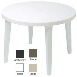Lot de 16 tables rondes Orléans diam 100 cm