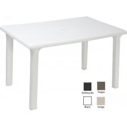 Lot de 16 tables rectangles Orléans 120 x 80 cm