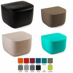 Table basse ou pouf Translation 100% recyclable 51,3 x 51,4 cm