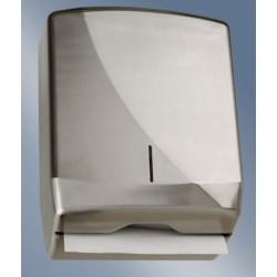 Distributeur d'essuie-mains en Z JOFEL Fusion 600 feuilles inox brossé