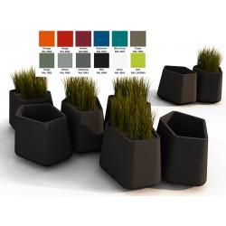 Pot décoratif Rock Garden petit 100% recyclable