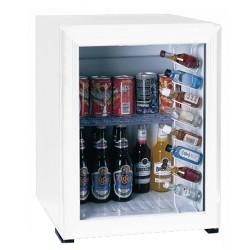 Minibar à absorption blanc 40L porte vitrée