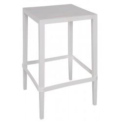 Lot de 12 tables hautes en polypropylène et fibre Rians H92 cm