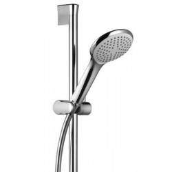 Barre de douche L600 mm avec douchette 1 jet Fraîcheur