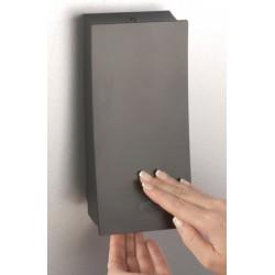 Distributeur de savon 1 réservoir 450 ml Design Plus noir mat