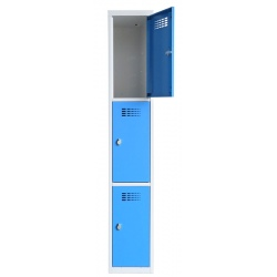 Vestiaire multicases  1 colonne 3 cases L30 x P50 x H 180 cm