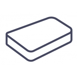 Lot de 75 alèses housse matelas jetables blanc 80x190x15 cm
