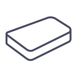 Lot de 75 alèses housse matelas jetables blanc 140x190x20 cm