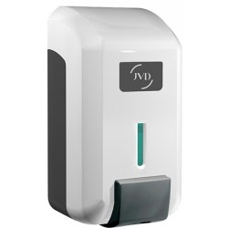 Distributeur de savon gel JVD 800 ml blanc