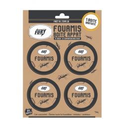 Lot de 6 boites fourmis Fury 3 + 1 gratuit