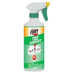 Lot de 6 flacons pulvérisateur Tue rampants Fury 500 ml