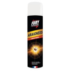 Lot de 6 aérosols Tue araignée Fury 400 ml