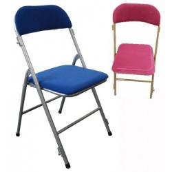 Lot de 6 chaises pliantes et accrochables Mélanie M2