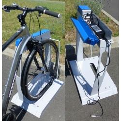Borne support vélos électriques VAE