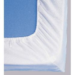 Protège matelas drap housse molleton coton enduit 170g 140x200 cm
