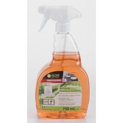 Nettoyant détartrant sanitaires Ecolabel en spray 750 ml (le lot de 6)