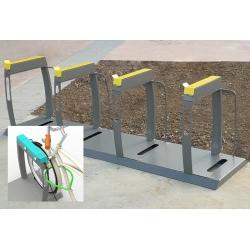 Borne support vélos électriques VAE (élément suivant)