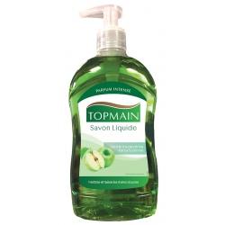 Lot de 12 pompes de savon liquide pomme Topmain 500 ml