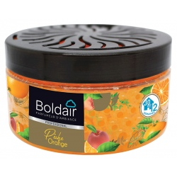 Lot de 6 boites Boldair Perles Pêche Orange 250 g