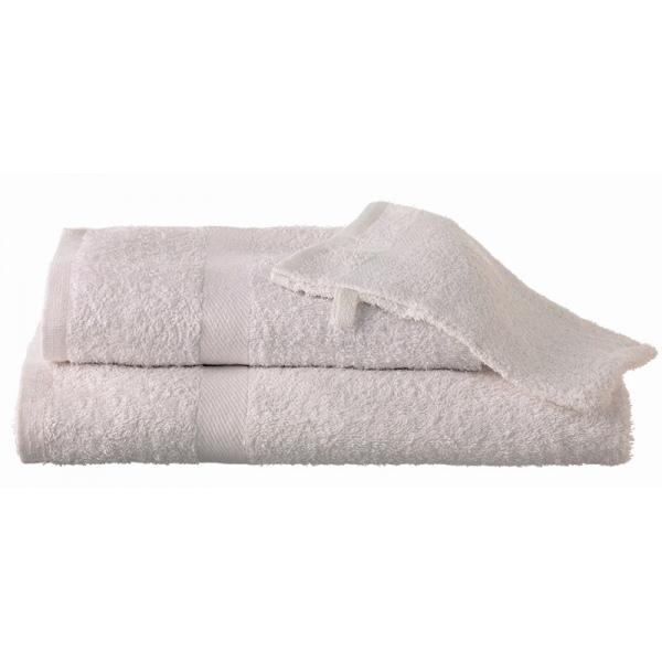 Serviette de toilette Jonquille 50x100 cm 380g blanc